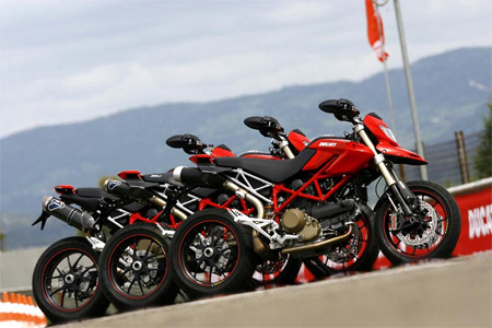 Ducati Hypermotard 1100 - Only In Red!