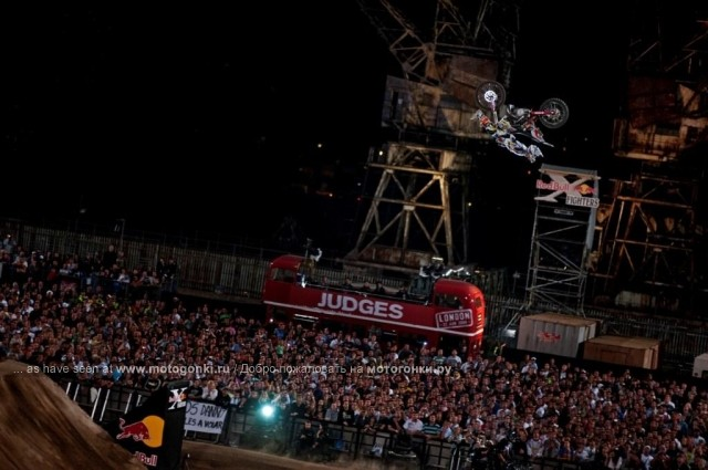 Red Bull X-Fighters, Лондон