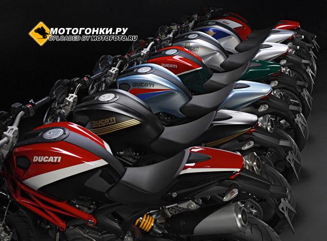 Ducati Monster 796 - такой разный!