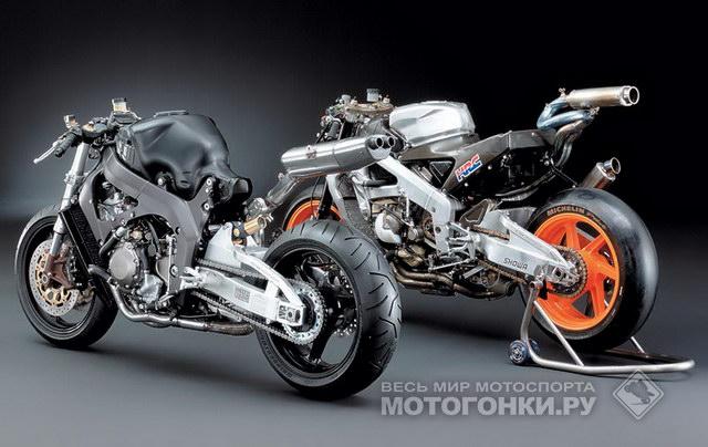 Шасси Fireblade и RC211V