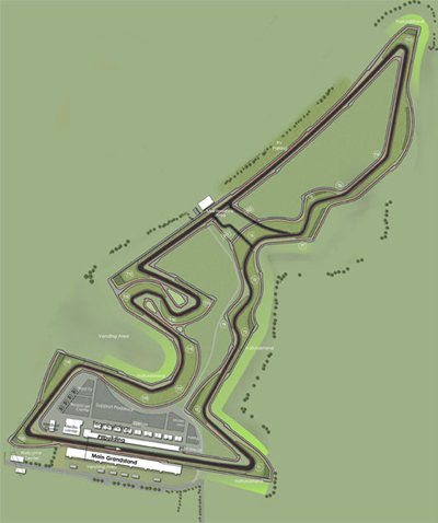 Austin USGP Circuit Layout