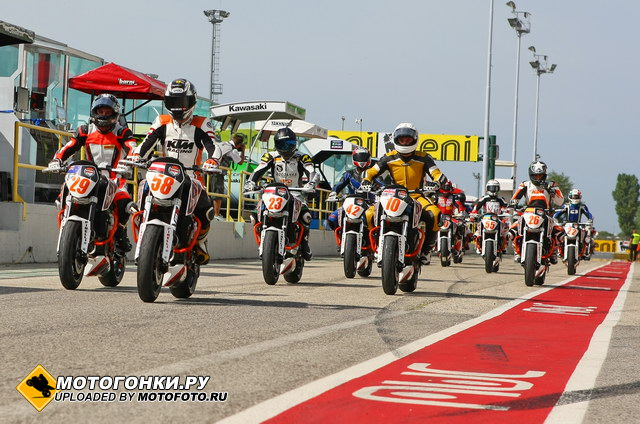 European Junior Cup, Misano World Circuit