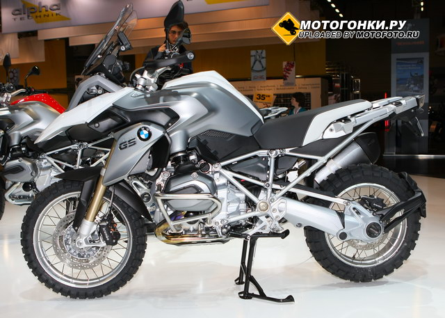 BMW R1200GS (2013) - Paralevel слева