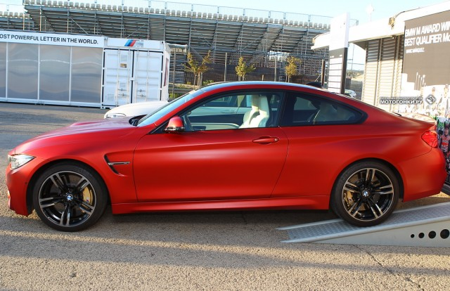 BMW M Award 2014 достается Марку Маркесу: BMW M4 Coupe, 3.0 Inline 6 Twin Turbo, 431 л.с.