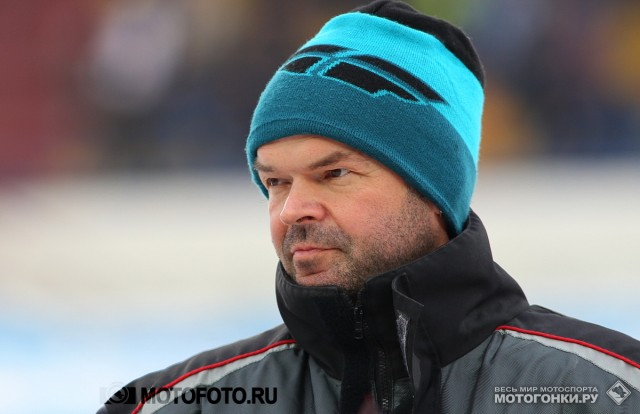 FIM Ice Speedway Gladiators 2015 RD1 Krasnogorsk: Gunter Bauer. Not really good day for him.