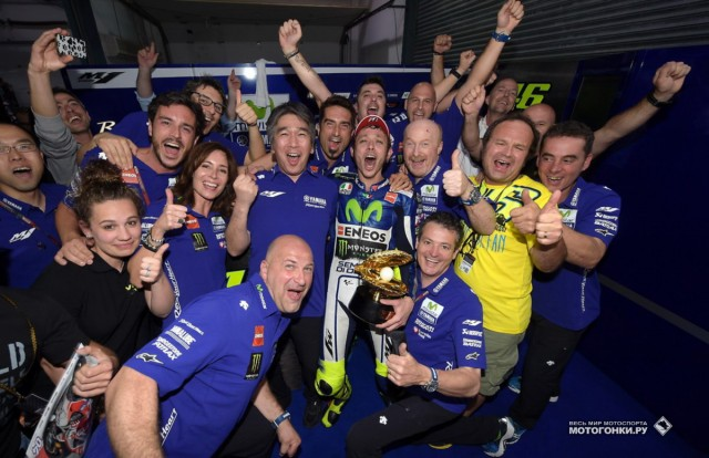 MotoGP 2015 Qatar GP 1st Round - Valentino Rossi is the Winner!!!