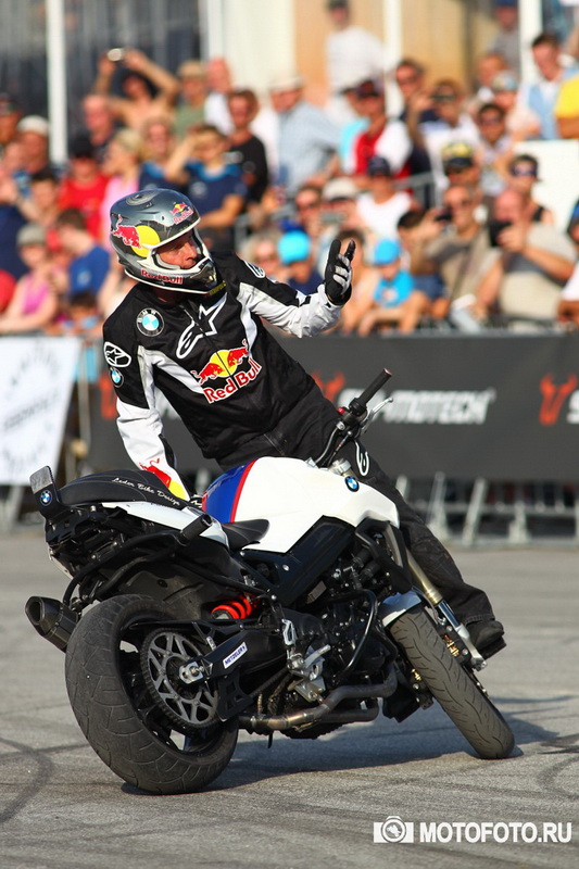 BMW Motorrad Days 2015 - Stunt King Chris Pfeiffer