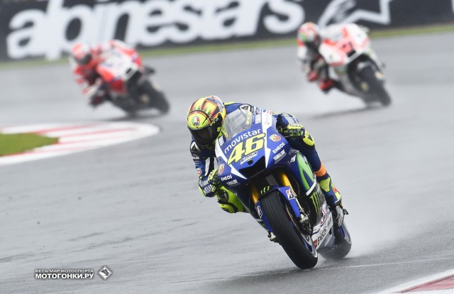MotoGP 2015 British GP 12th Round: Valentino Rossi & Ducatis