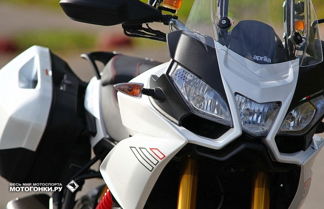 Тест-драйв APRILIA Caponord 1200 Travel