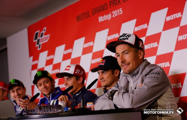 MotoGP 2015 Japan GP 15th Round: Nicky Hayden объявил об уходе в World Superbike
