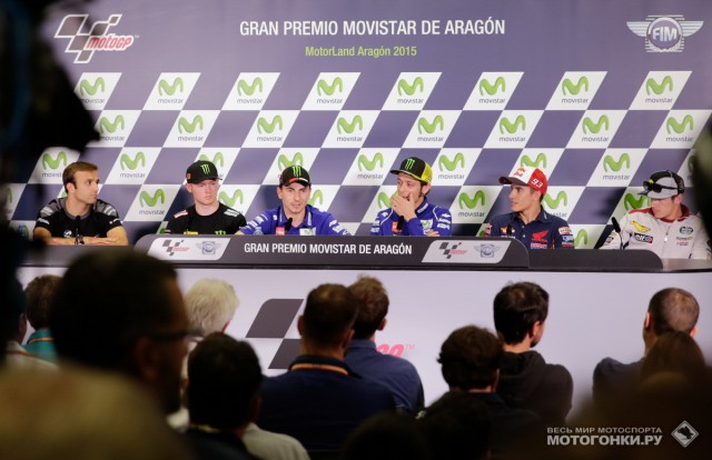 MotoGP 2015 Aragon GP 14th Round