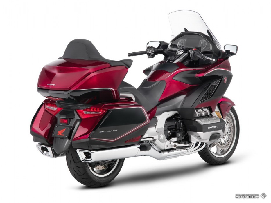Новый Honda Gold Wing GL1800 MY18