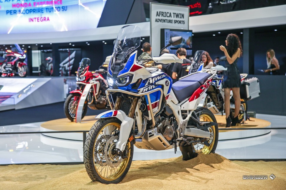 Миланский Мотосалон EICMA-2017: Honda CRF1000L2 Africa Twin Adventure Sports