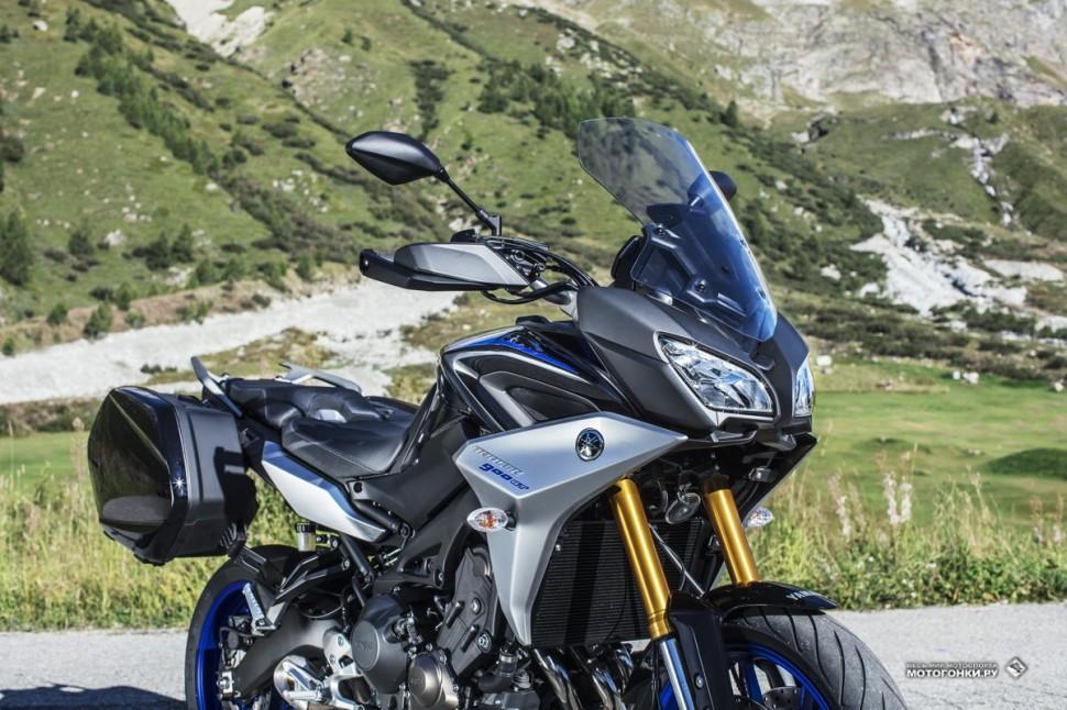 Миланский Мотосалон EICMA-2017: Yamaha Tracer 900GT (2018)