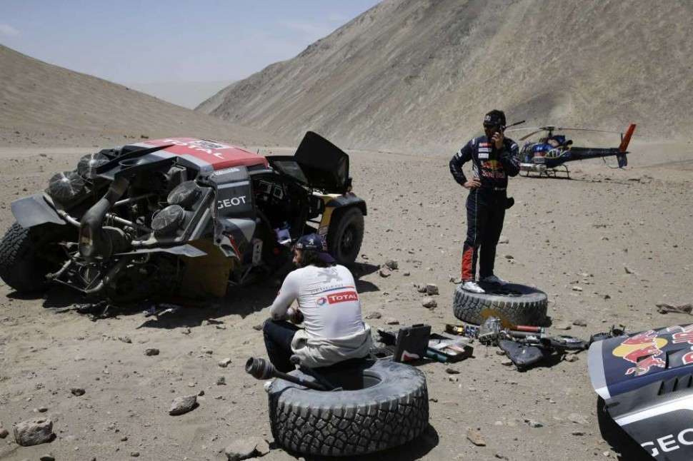 DAKAR CRASH