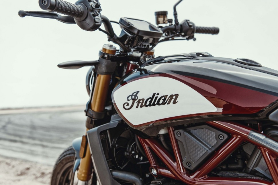 INTERMOT-2018: Indian FTR1200 Street Tracker (2019)