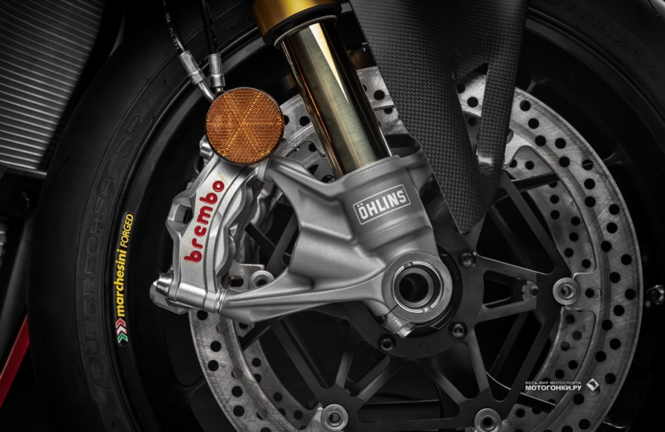 Ducati Panigale V4 R (2019) - тормоза Brembo Stylema