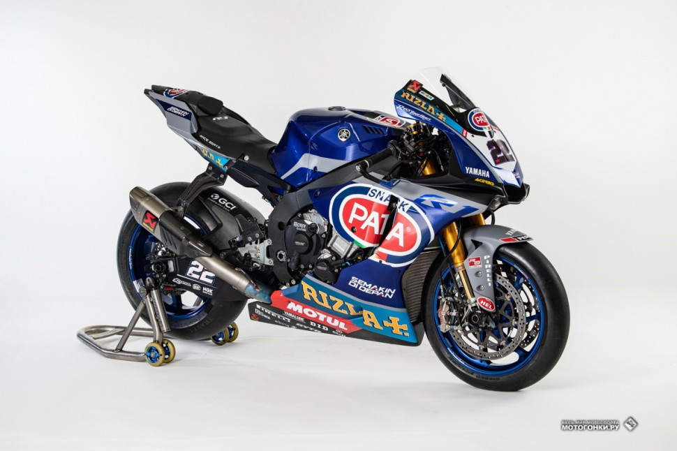 WorldSBK: Yamaha YZF-R1 (2019) Alex Lowes