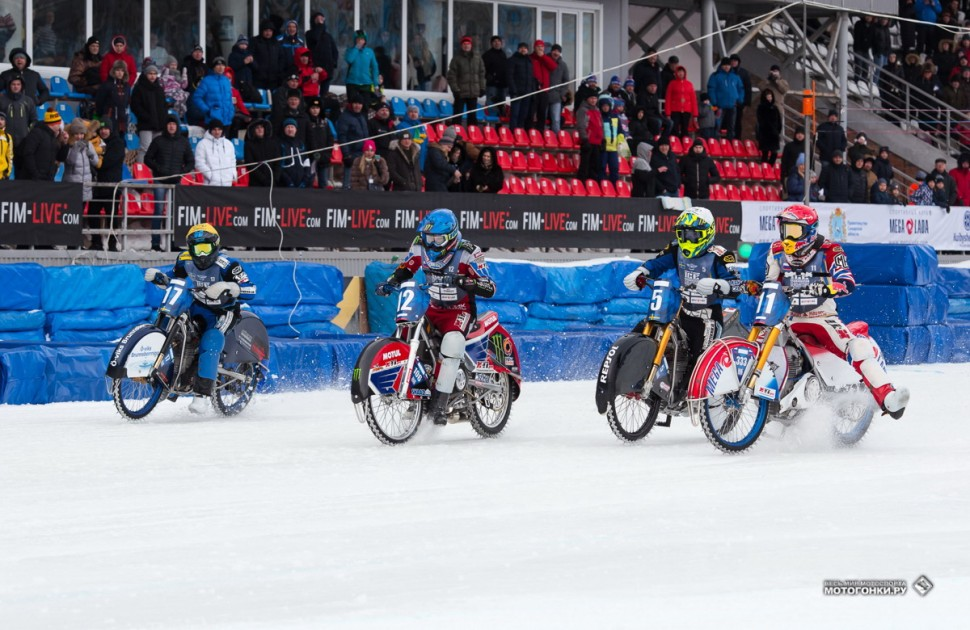 FIM Ice Speedway of Nations 2019 Фото: Денис Горностаев