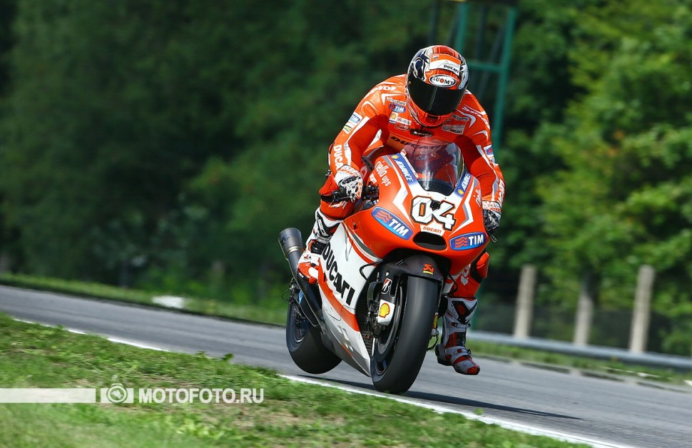 MotoGP 2014 Czech GP 11th Round - Андреа Довициозо, Ducati Factory - Железный человек MotoGP
