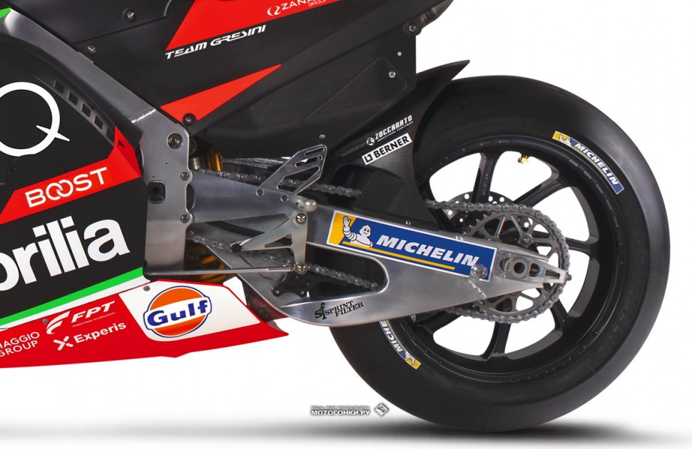 MotoGP: Aprilia RS-GP20 - rear-end