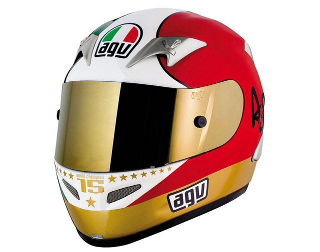 AGV Ti-Tech Agostini Replica