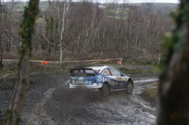 Rossi, Rally Wales GB