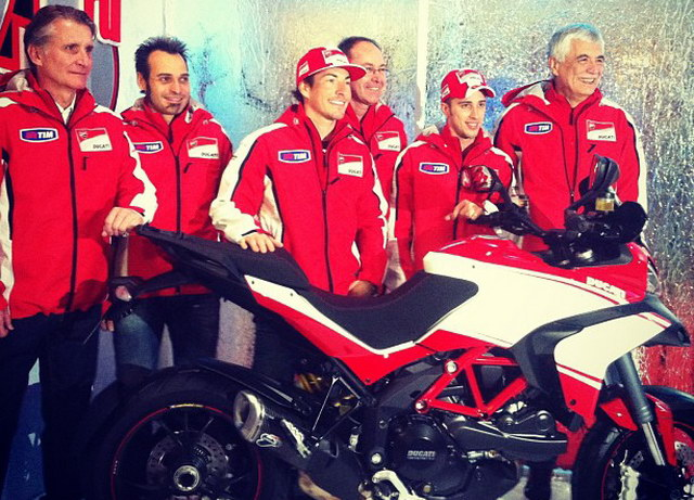 Wrooom 2013: Ducati Factory Team