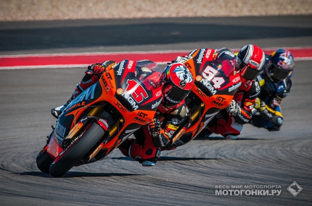 Moto2: впервые в Circuit of the Americas