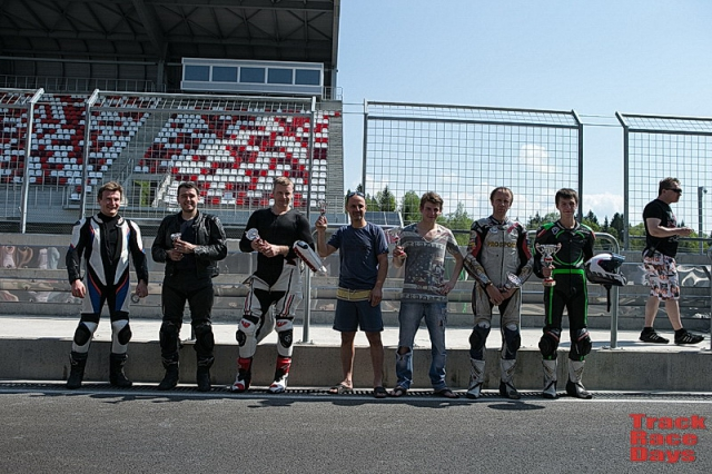 Призеры Track Race Days Open 600
