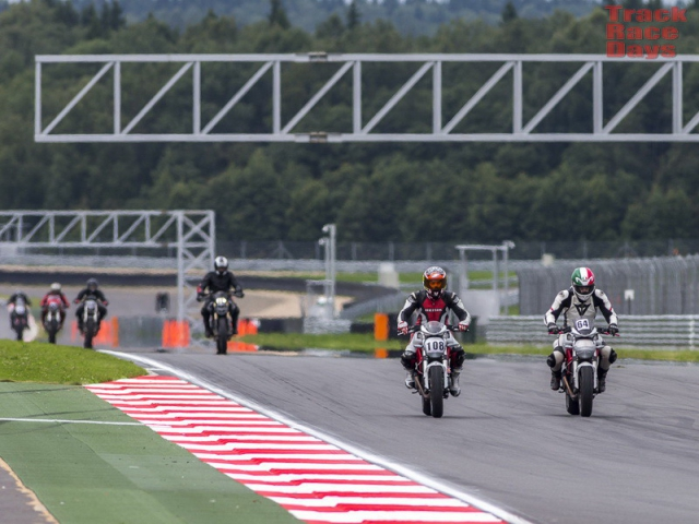 Desmo Club Moscow на Moscow Raceway