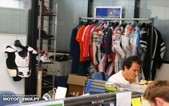 Alpinestars Motorcycle Dept. Men at work! Do not disturb