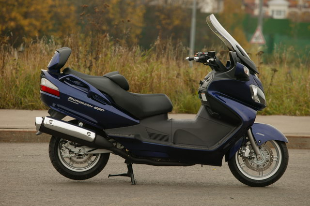 Тест-драйв Suzuki Burgman 650 Executive