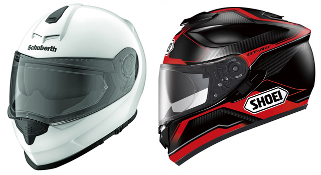 Мотошлемы SCHUBERTH S2 и SHOEI GT-Air по 19900 руб