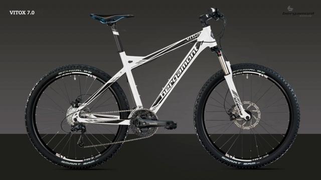 Горный велосипед типа Hard-tail (с амортизационной вилкой, без амортизации на заднем колесе), бюджетной модели Bergamont Vitox