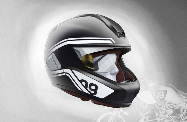 Умный шлем flip-up от BMW Motorrad появится через несколько лет