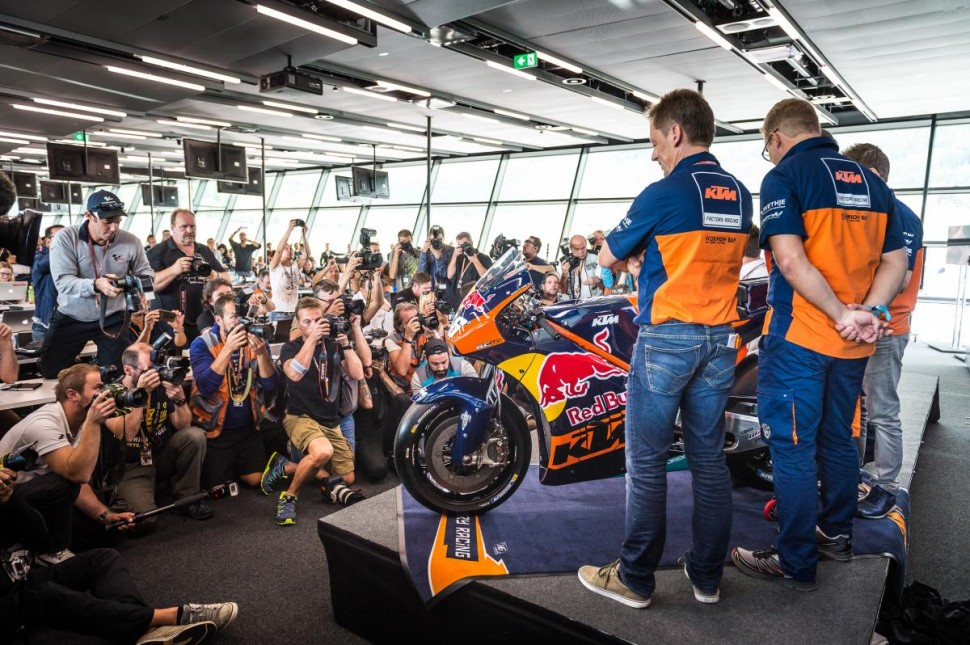 Презентация KTM Factory Racing MotoGP в Red Bull Ring