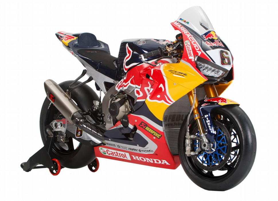 Honda CBR1000RR Fireblade SP2 Red Bull Honda World Superbike Team (2017)