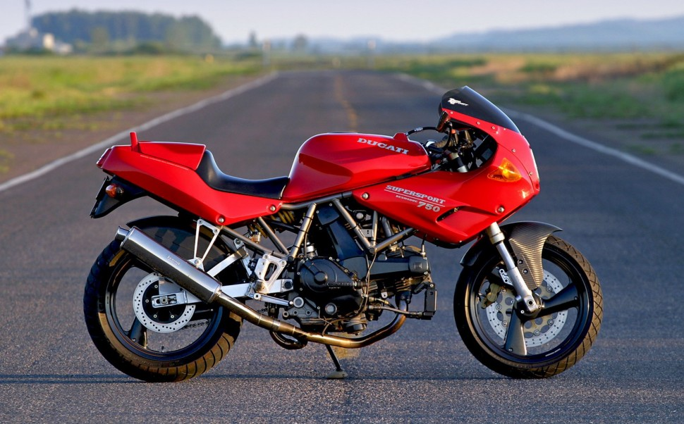 Ducati SuperSport (2000) - икона стиля
