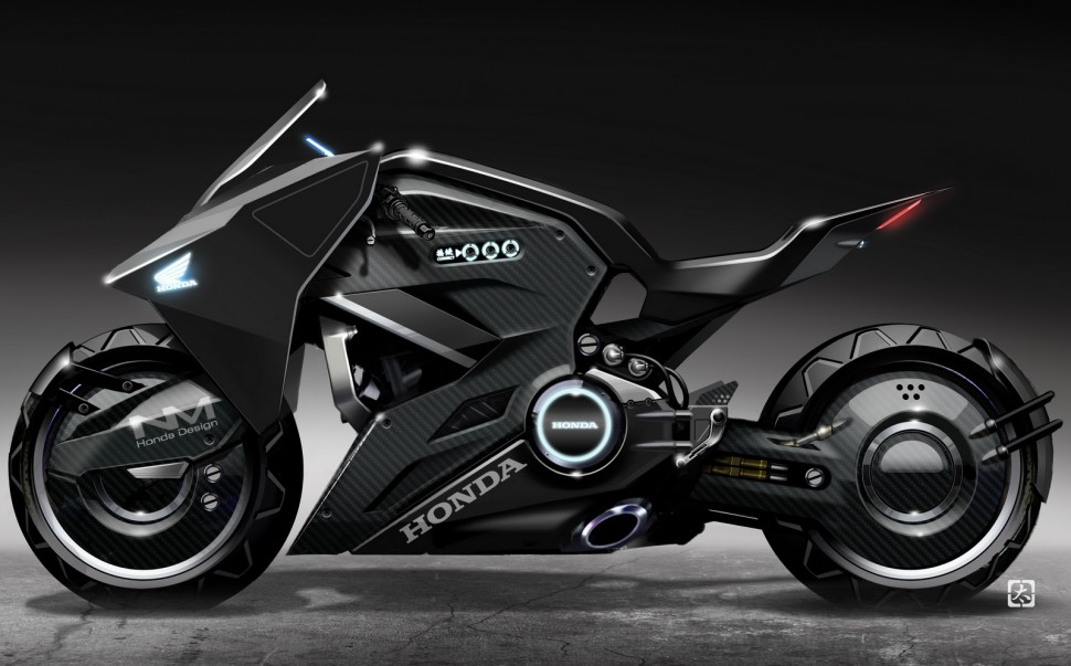 Honda NM4 для Ghost in the Shell