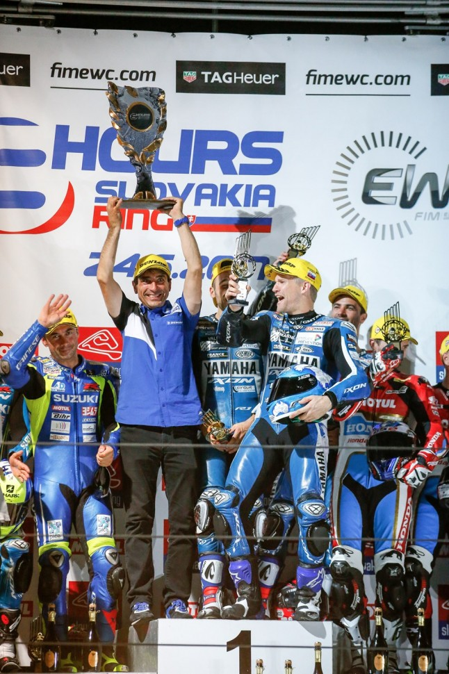GMT94 Yamaha берет третью победу подряд в FIM Endurance World Championship