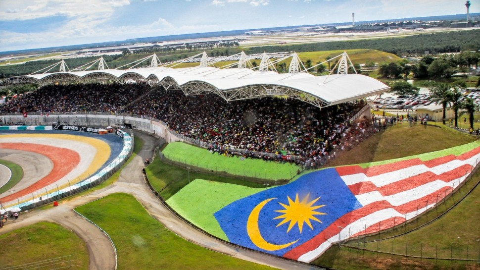 Трибуны Sepang International Circuit, MotoGP