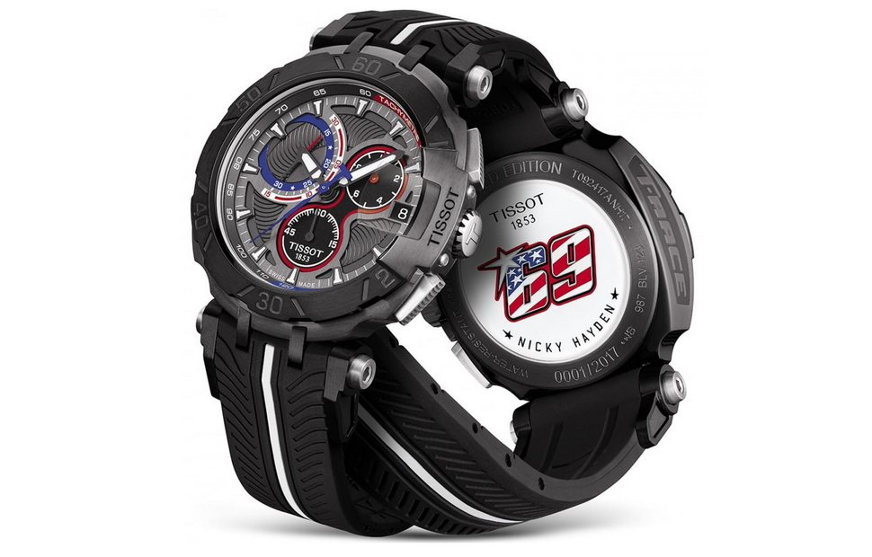 Tissot T-Race Nicky Hayden Edition