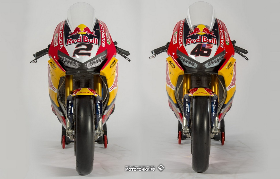 Honda CBR1000RR Fireblade SP2 SBK / Red Bull Honda World Superbike Team 2018