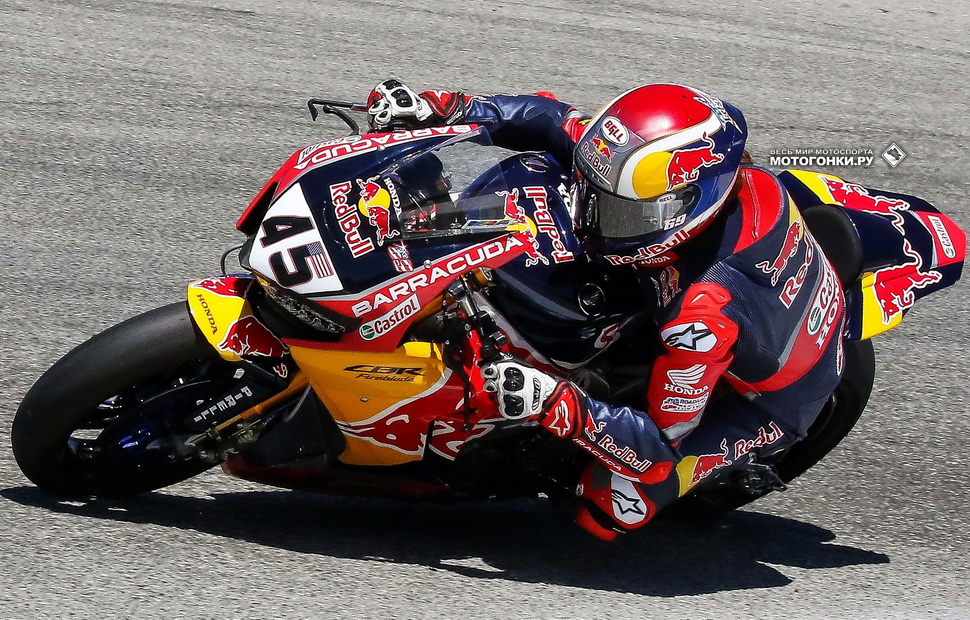 Новобранец Red Bull Honda World Superbike Team Джейк Ганье, #45