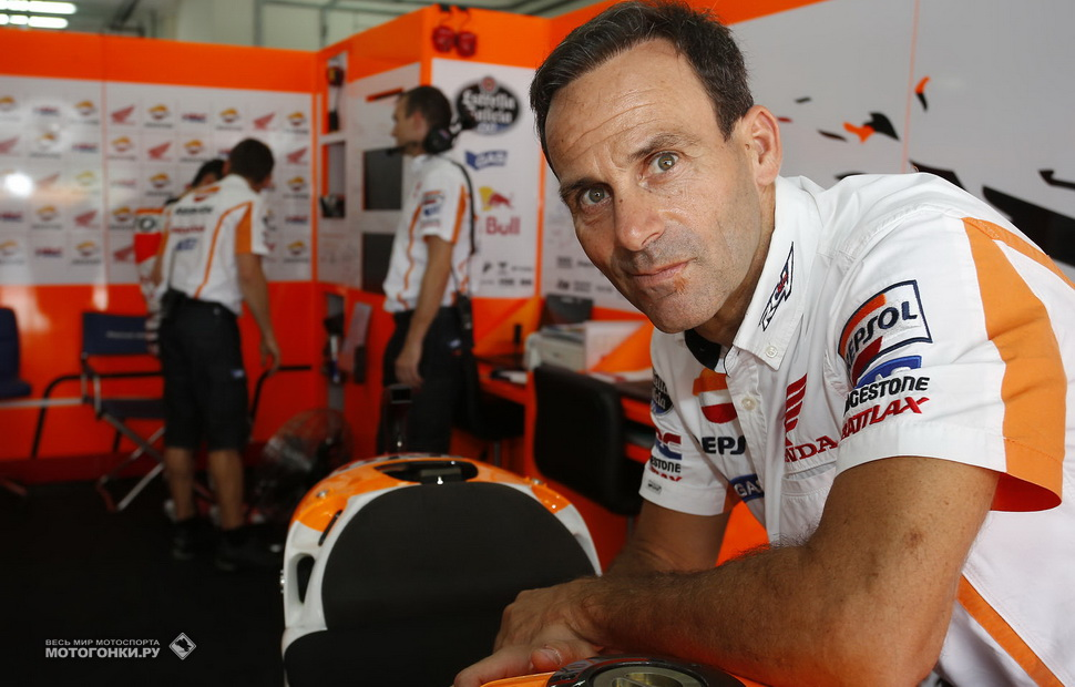 Альберто Пуч, директор Repsol Honda Team