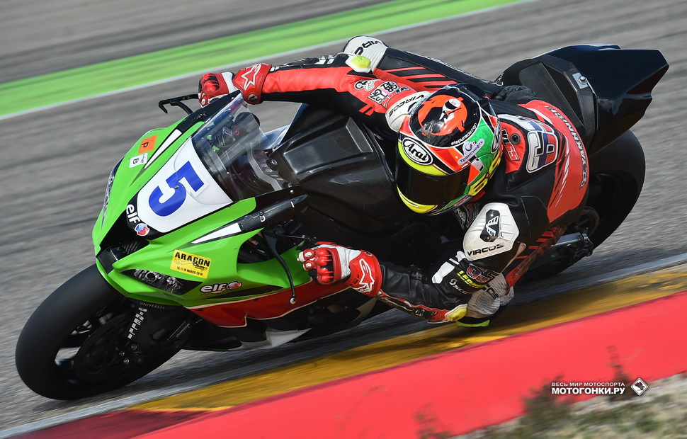 Владимир Леонов, SPB Racing Team на Kawasaki ZX-10RR для World Superbike