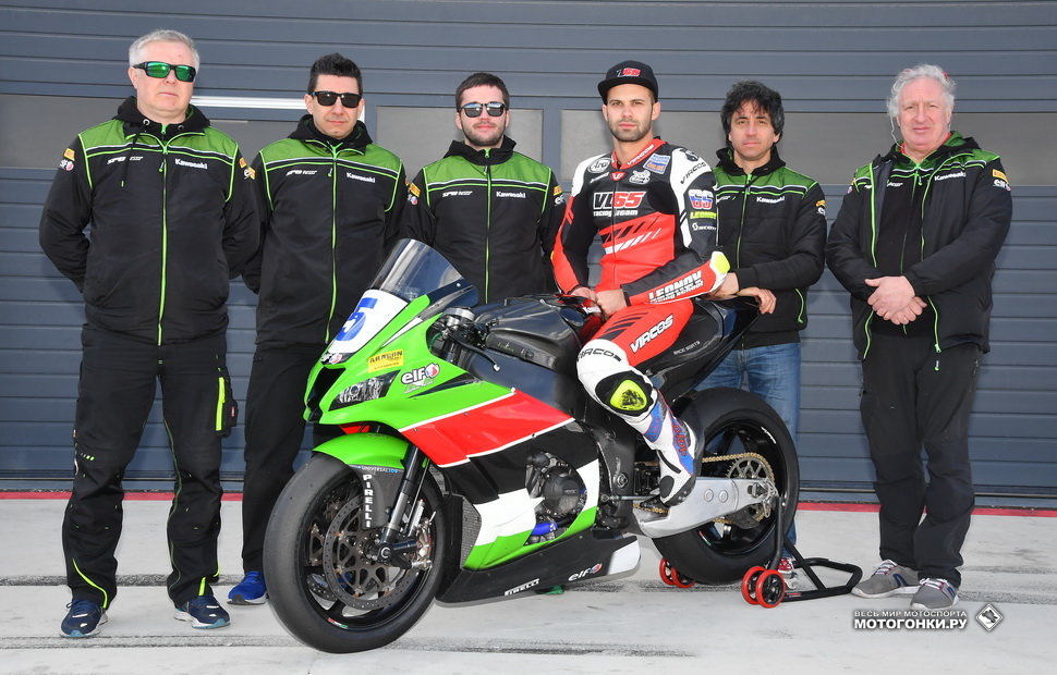 Владимир Леонов, SPB Racing Team на Kawasaki ZX-10RR в World Superbike