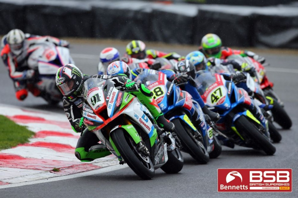 Вторая гонка BSB в Brands Hatch