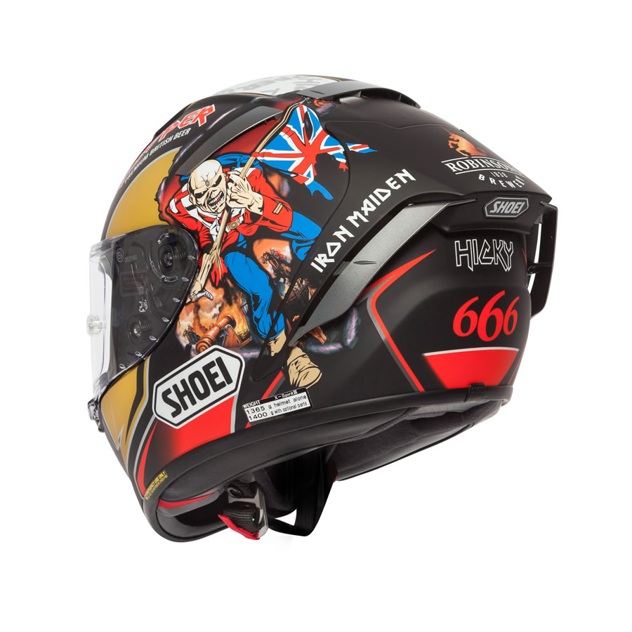 SHOEI X-SPIRIT 3 - Hickman Trooper 2018 Replica